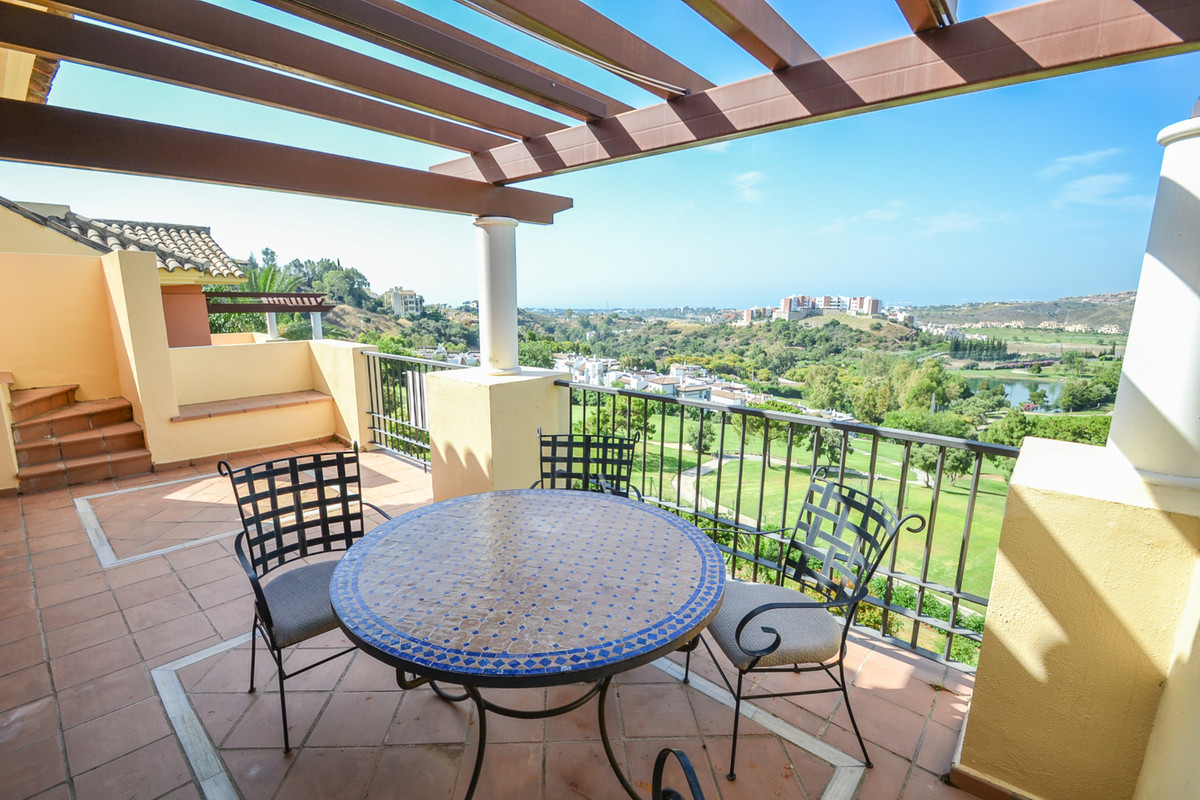 Beautiful two bedroom duplex penthouse (previously 3) on the Finca, an exclusive complex in Los Arqu,Spain