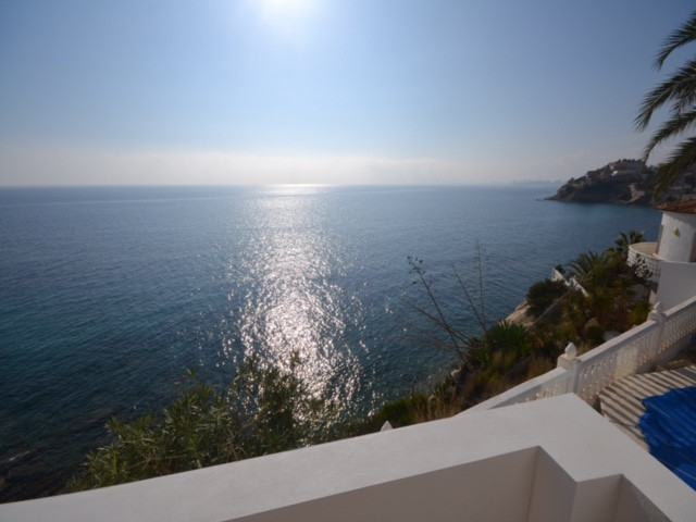 Sea front, unique, modern design villa in one of the best locations on th Costablanca; steps to smal, Spain