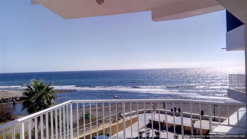 Frontline Beach Apartment with Stunning Sea Views.  Located at the east end of San Pedro Beach in Lo,Spain