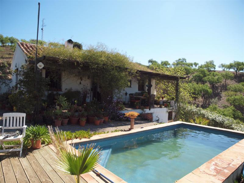 Beautiful authentic rustic finca in Sedella. Great mountain views. South facing. Fully furnished hou, Spain