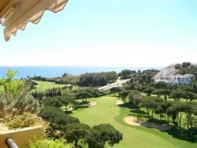 Well-appointed golf-front apartment with superb views to the sea and to manicured fairways. The prop,Spain
