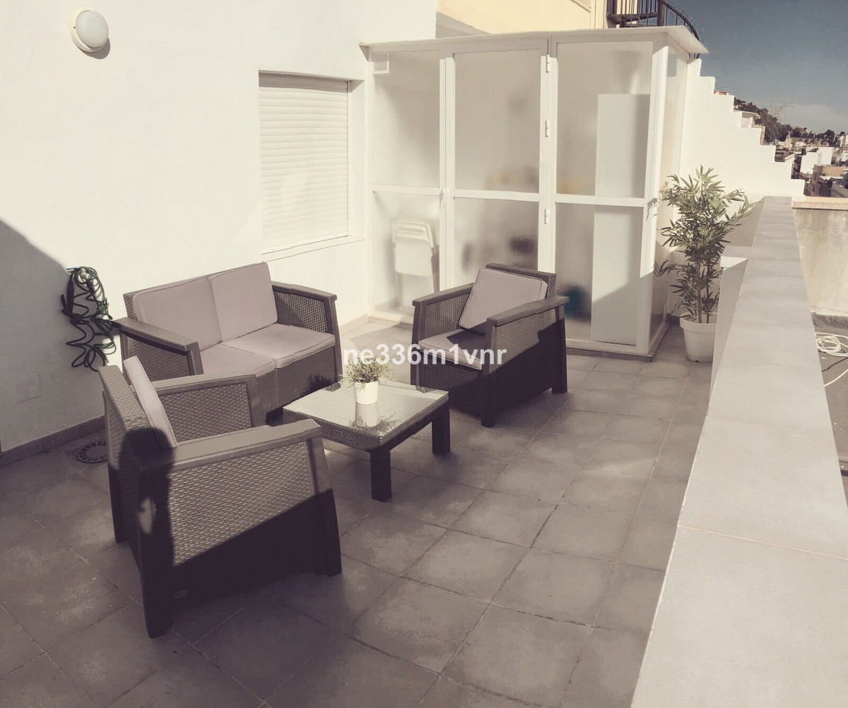 Beautiful penthouse of design and modern style located in the center of Malaga.  It has 100 m2 built,Spain