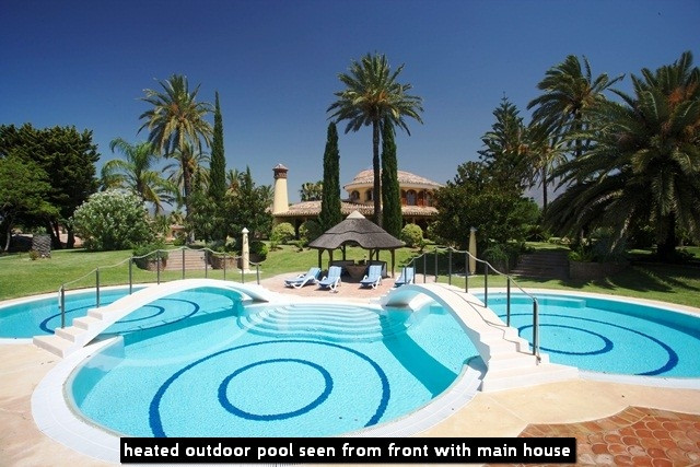 ABSOLUTE OUTSTANDING PROPERTY set in very natural surroundings yet next to a GOLF COURSE Entering th,Spain