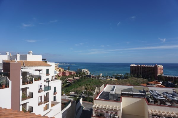 Fantastic Penthouse apartment with over 137 square metre terrace. close to the Sea. in Benalmadena C, Spain