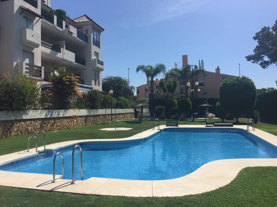 2 bedroom ground floor apartment located in gated complex near Puerto Banus with short walking dista,Spain