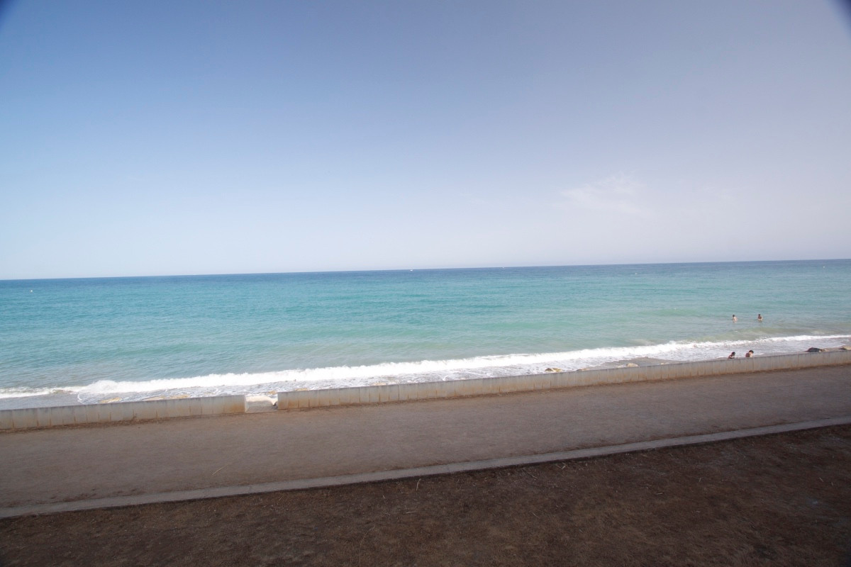 Apartment situated  first line beach in Estepona, with spectacular sea views. The apartment has been,Spain