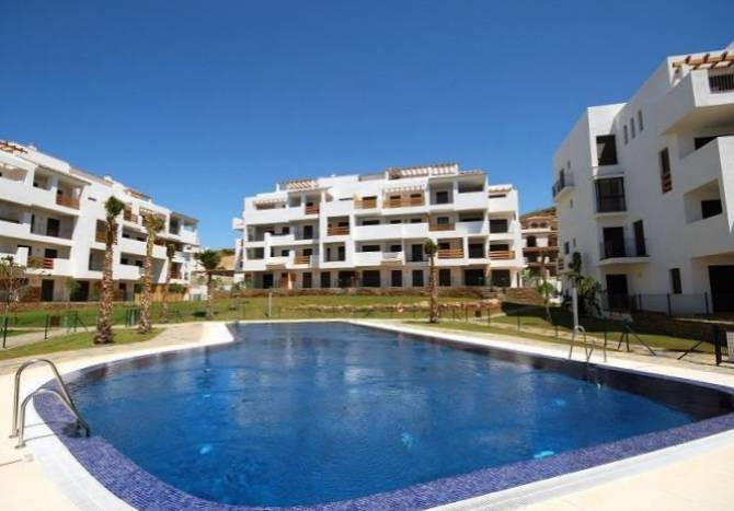 Modern 2 bedroom apartment with wonderful sea views to enjoy! This 3rd floor property is very well p, Spain