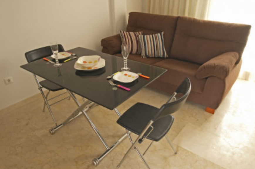 Brand new apartment 50m from a great beach with chiringuitos, semi furnished, kitchen with furniture, Spain