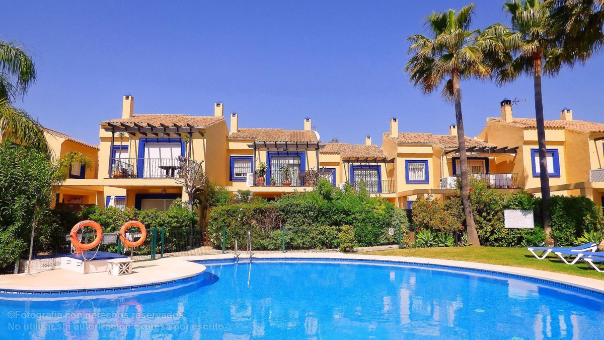 Charming corner Townhouse at walking distance to Puerto Banus within a private and gated complex wit, Spain