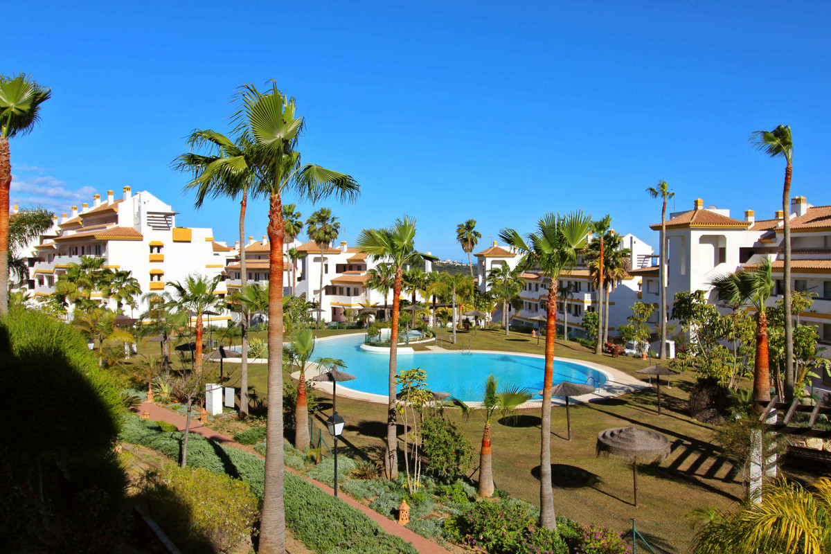 Beautiful urbanization in La Cala with gardens, fountains, two paddle tennis courts, two pools, a po, Spain
