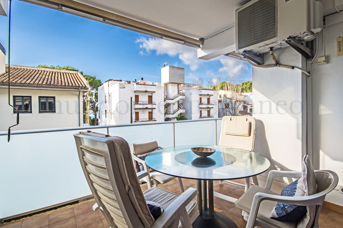 Immaculate second floor apartment located on the second line of the sea, in Puerto Pollensa, just 2 ,Spain