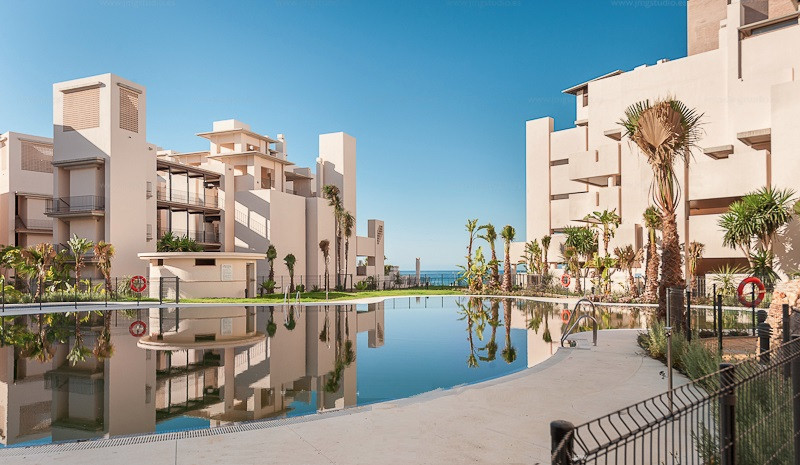 Ground Floor Apartment, New Golden Mile, Costa del Sol. 2 Bedrooms, 2 Bathrooms, Built 100 m², Terra, Spain