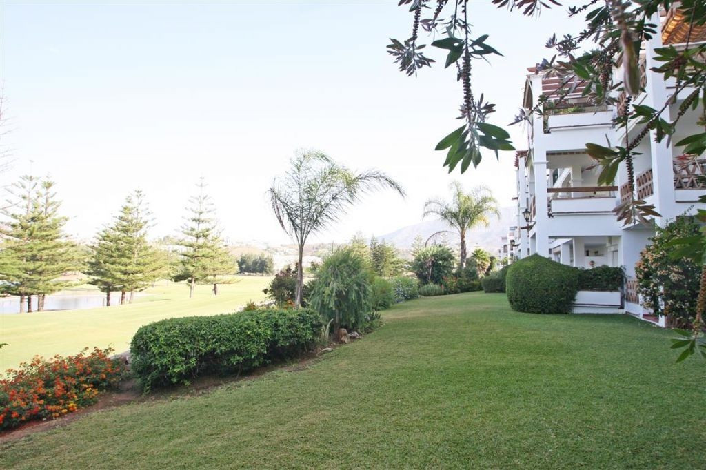 Attractively priced penthouse with superb views over the Mijas Golf course, in Mijas Costa, located ,Spain