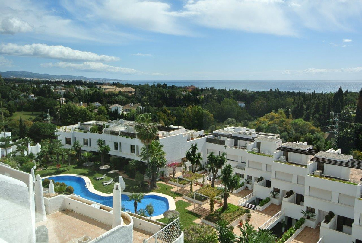 This penthouse apartment is located in Las Lomas de Marbella Club in the heart of the Golden Mile of, Spain