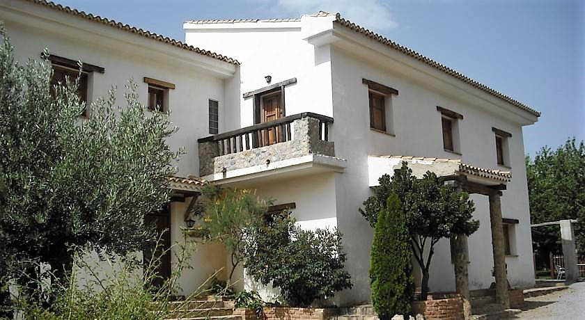 This enchanted B&B for sale has been designed and built in the typical style of an Andalusian fa, Spain