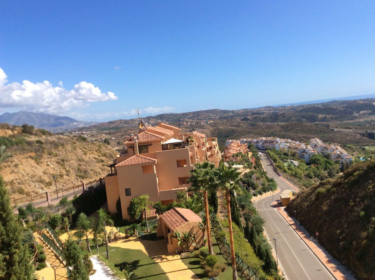 This exclusive 2 bedroom spacious and furnished second floor front-line golf apartament, with panora, Spain