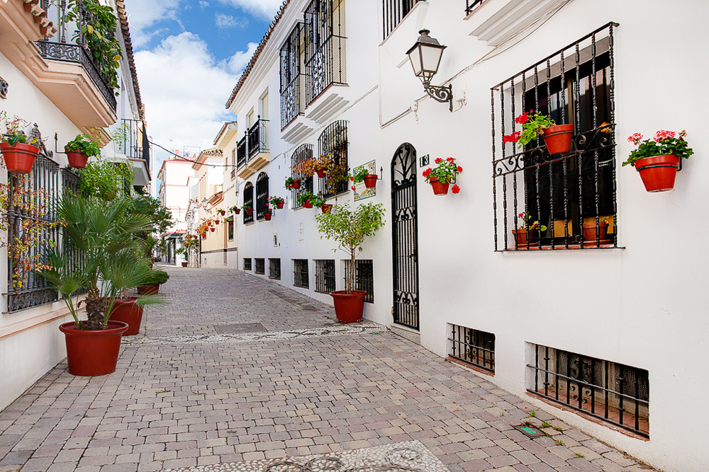 Beautiful village house built on 3 levels in the heart of Estepona  This lovely property features 3 ,Spain