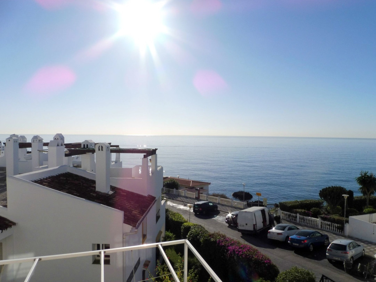 First line beach apartment for sale in Torremuelle, Benalmadena. The property features a living/dini, Spain