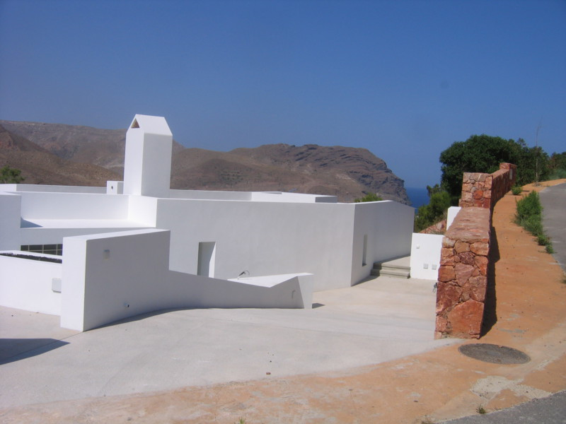 From the spacious terrace , livingroom  and kitchen ,of this modern villa,you can enjoy the impressi, Spain