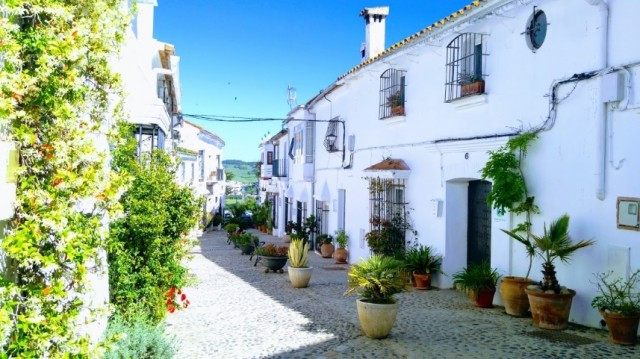 Historic village house in Jimena de la Frontera, currently set up as a rental property and providing,Spain