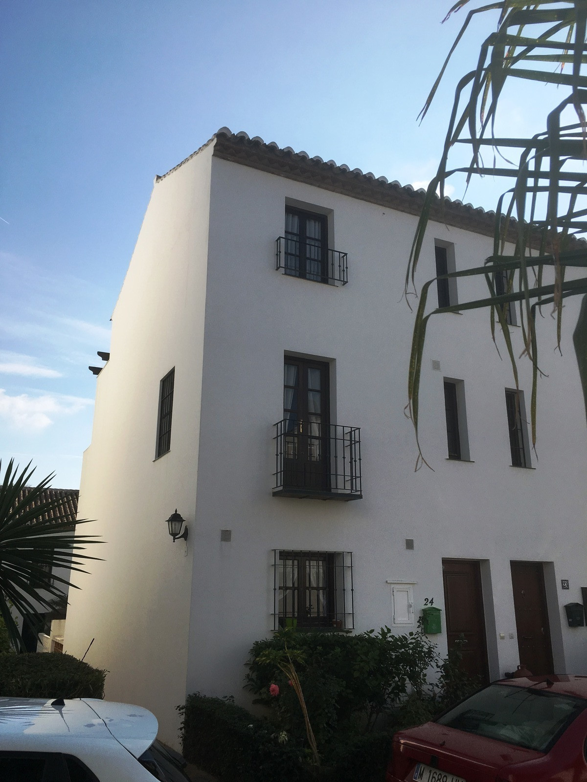 Mijas Golf three bedroom townhouse built over three levels and located in a quiet private cul-de-sac, Spain