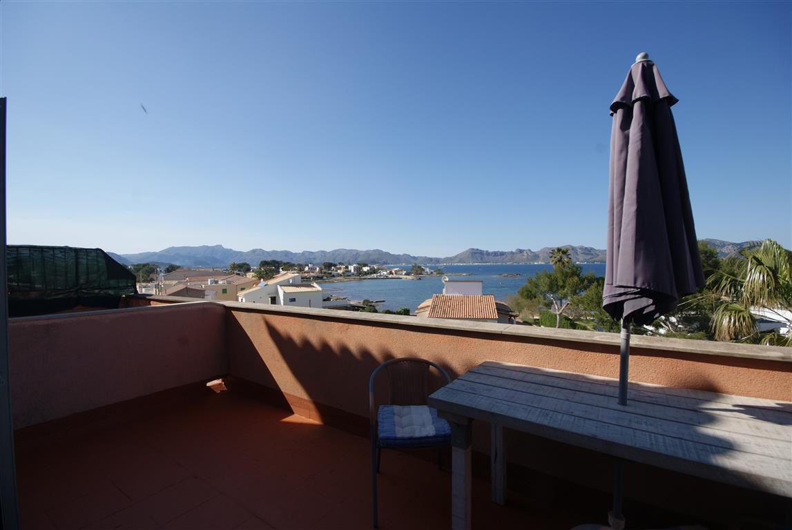 Barcares, Alcudia, Penthouse (3d floor) with spectacular views in a very quiet and privileged area.6, Spain