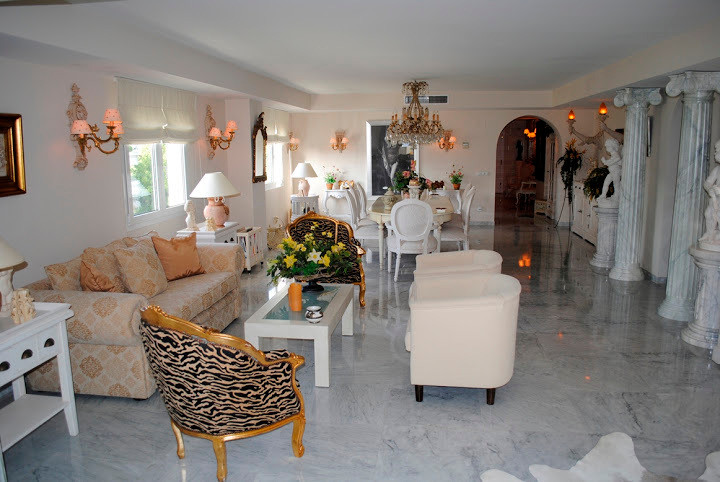 Astonishing duplex penthouse, located in Puerto Banus, inside a 5 star complex right in beach front Spain