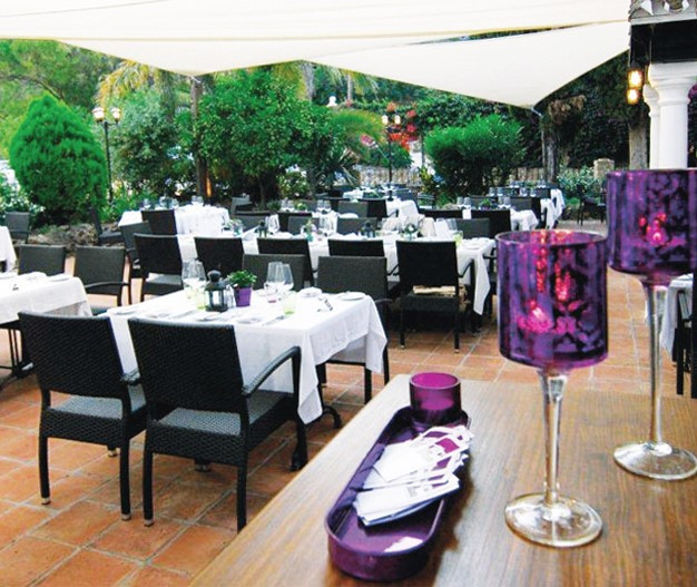 Well established high-class restaurant with sea views and unique ambience. Only 5 min. from Marbella,Spain