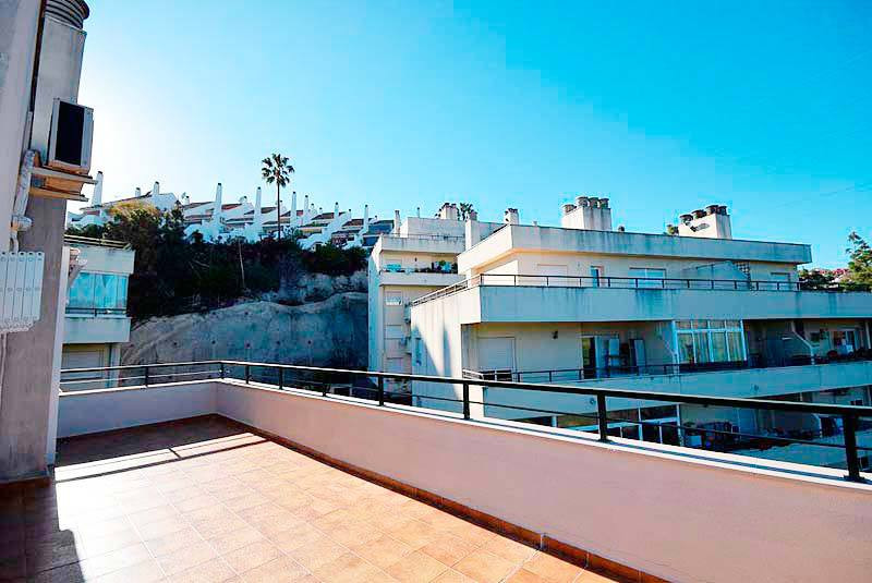 Penthouse of 121 m2 built and 18 m2 surface terrace, two bedrooms and two bathrooms in a beautiful u,Spain