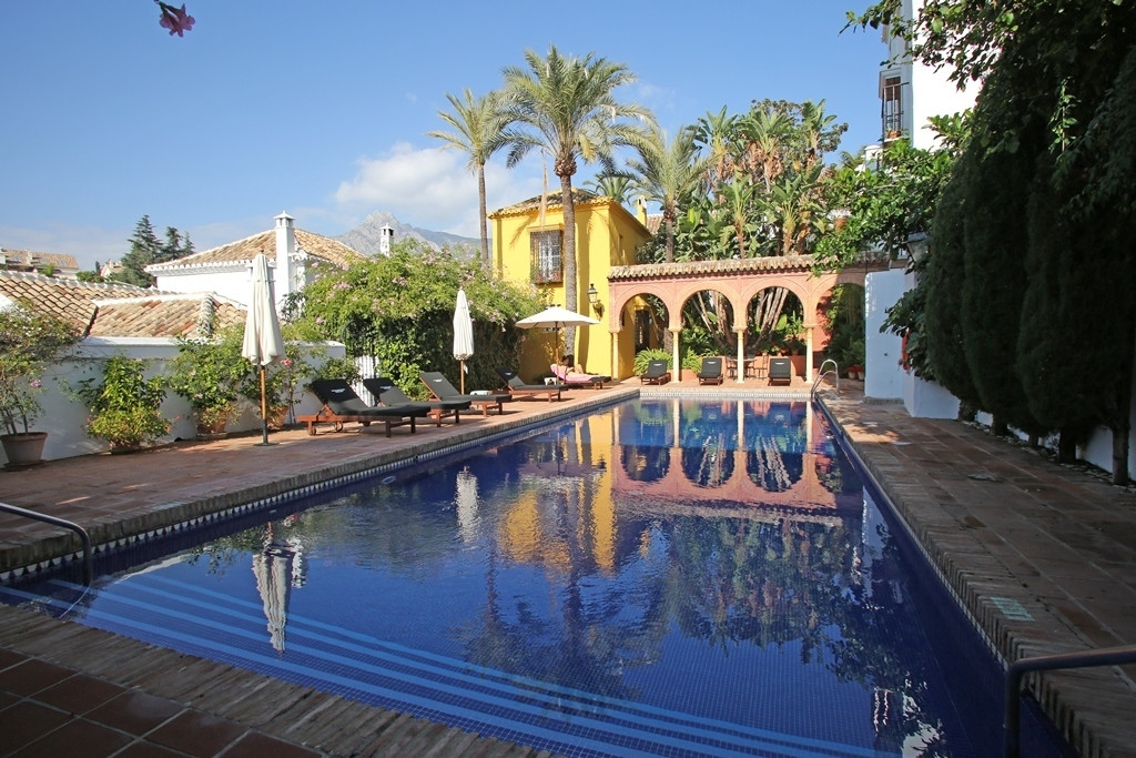 Recently refurbished two bedroom, south facing townhouse in the exclusive community Lomas de Marbell,Spain