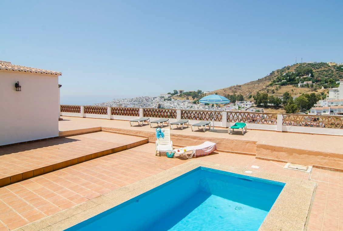 Fantastic villa located in Torrox with spectacular sea views on a plot of 2072 m2.,Spain