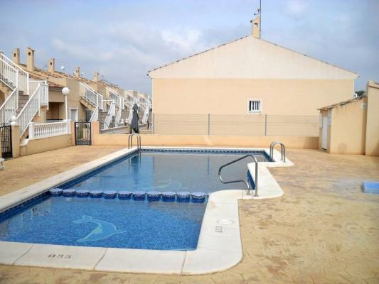 STUNNING 3 BEDROOM TOWNHOUSE IN GUARDAMAR, ALICANTE. This property is located in a closed urbanizati,Spain