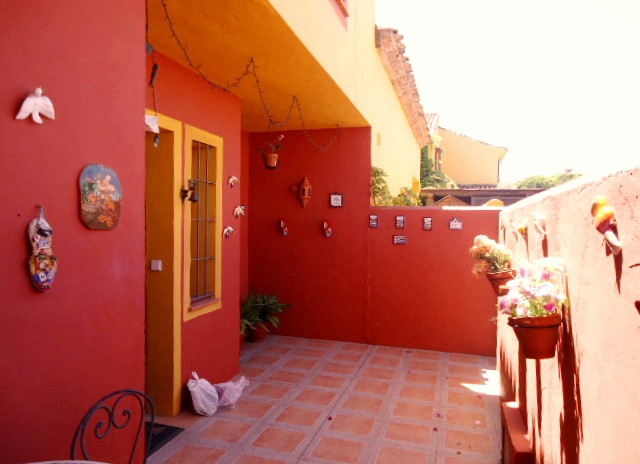 Spacious townhouse located near the bus station of Marbella, amenities and schools. Private terrace ,Spain