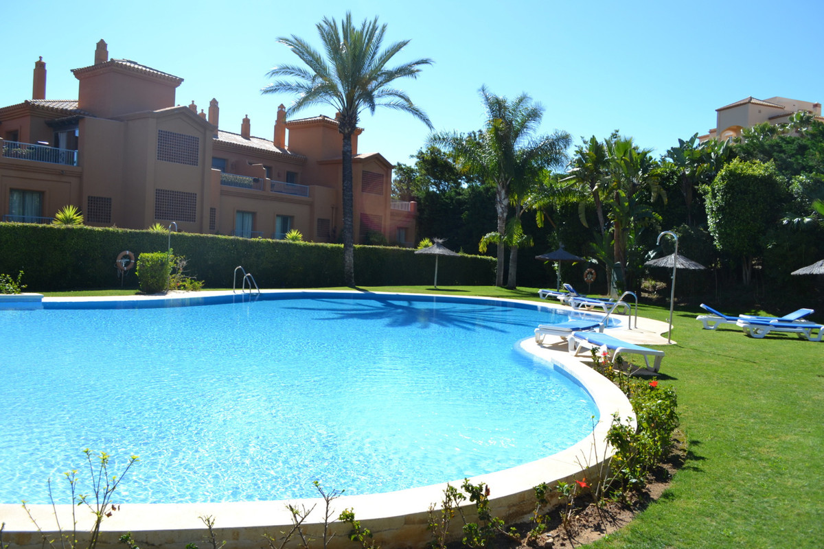 SUN, SEA AND GOLF!     This slightly elevated, spacious 2-bed GROUND FLOOR LUXURY APARTMENT overlook, Spain