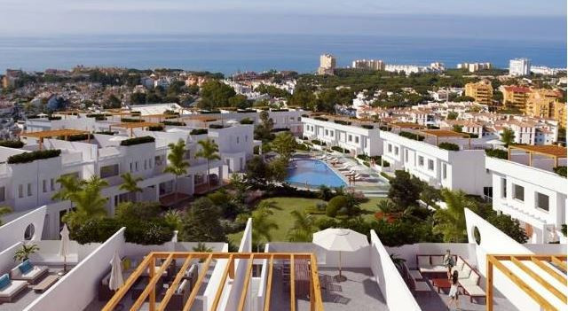€525,000 48 BRAND NEW LUXURY TOWNHOUSES  First class modern development With sea views & close t, Spain