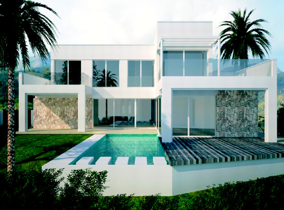 CURRENTLY UNDER CONSTRUCTION  The villa is located next to the 7th hole of the golf course of Cabopi, Spain