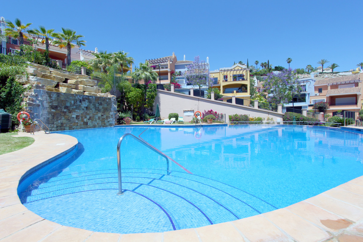 Brisas Del Sur is made up of 52 pastel coloured townhouses in a very secure gated complex. This part, Spain