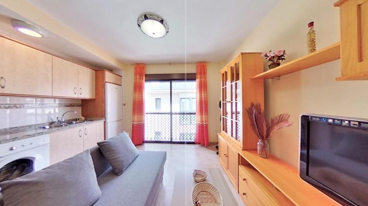 Apartment with 2 bedrooms and one bathroom. Open kitchen .Open urban views and views to the Mountain,Spain