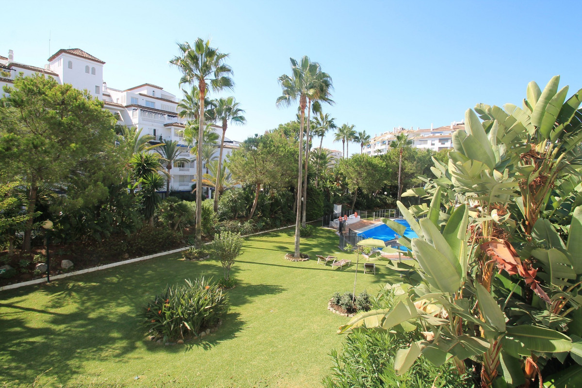 Beachside three bedroom apartment set in a gated complex within Puerto Banus with all amenities on y,Spain