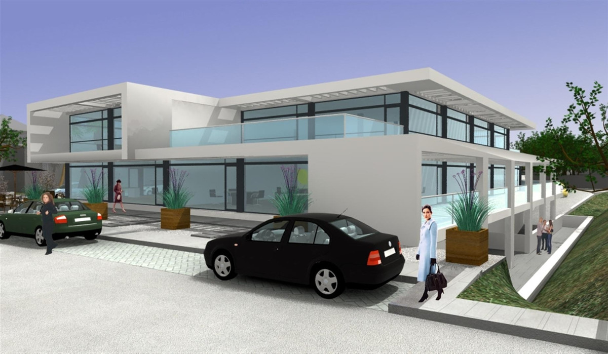 Project for business centre for sale situated very close to Puerto Banus, with easy road access. The,Spain