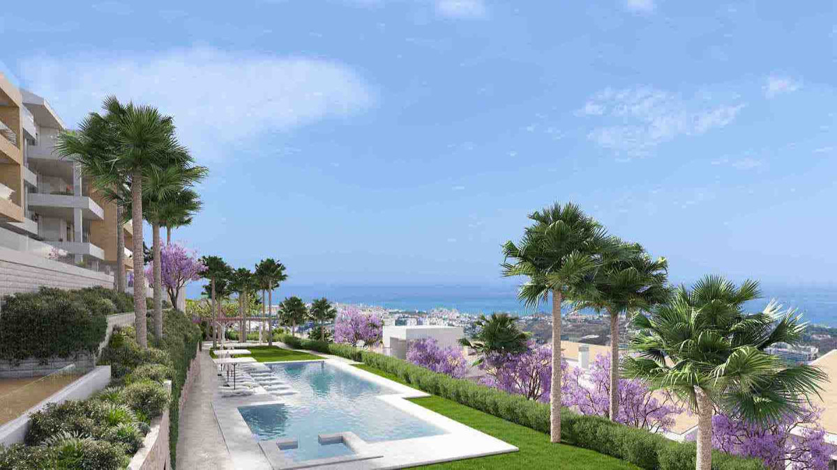 SEA VIEW apartments in a new design luxury development. This brand new development has been designed,Spain
