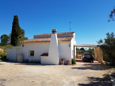 Country house of 130m2 on a plot of 4800m2  Fully restored country house with mountain views and goo,Spain