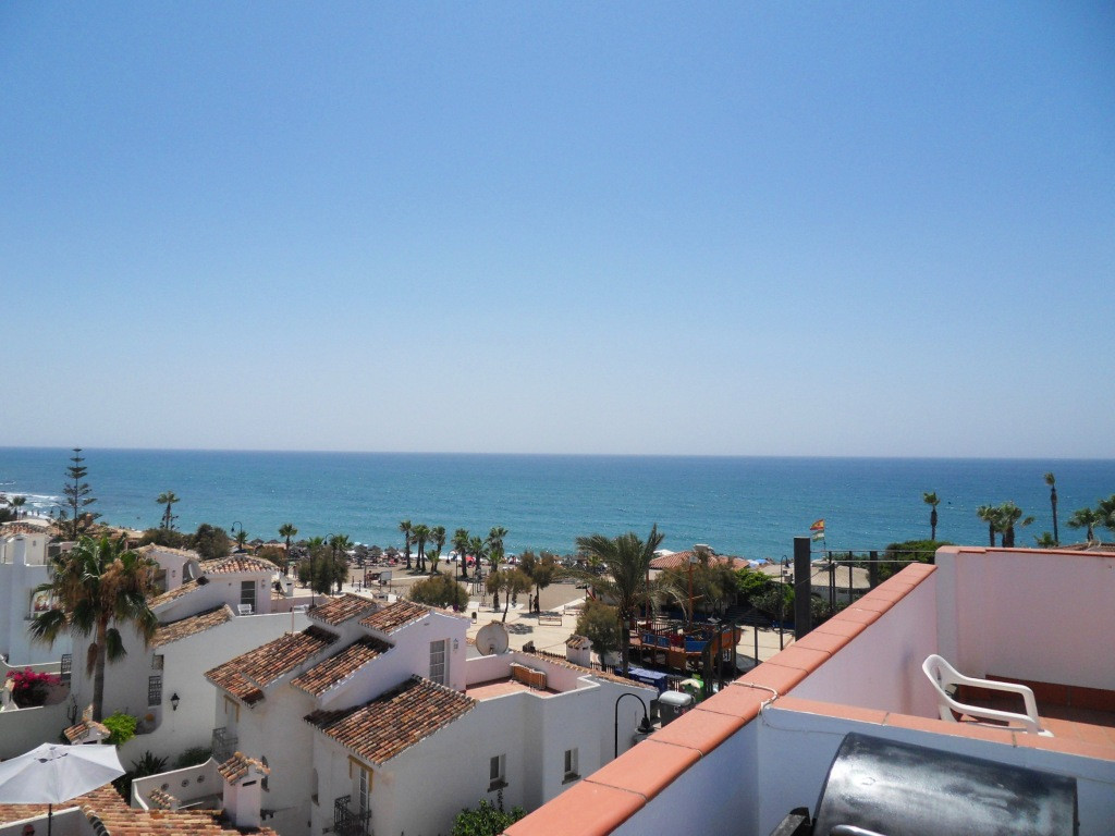 This penthouse is very special. It is right by the beach in La Cala de Mijas with fabulous views acr,Spain
