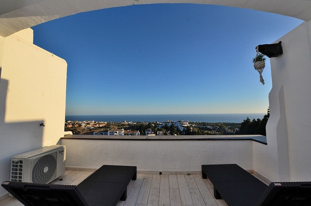 CONTEMPORARY DUPLEX PENTHOUSE WITH BREATHTAKING VIEWS located in Calahonda (Mijas Costa). Totally re, Spain