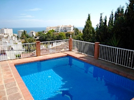 RESERVED  Fantastic detached villa in one level with south orientation and great sea views,  located, Spain