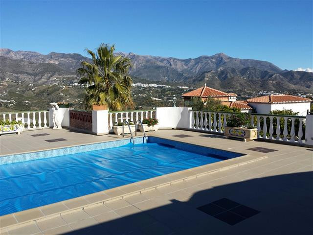 Superb Villa between Frigiliana and Torrox and with wonderful views to the sea and the mountains, 7 ,Spain