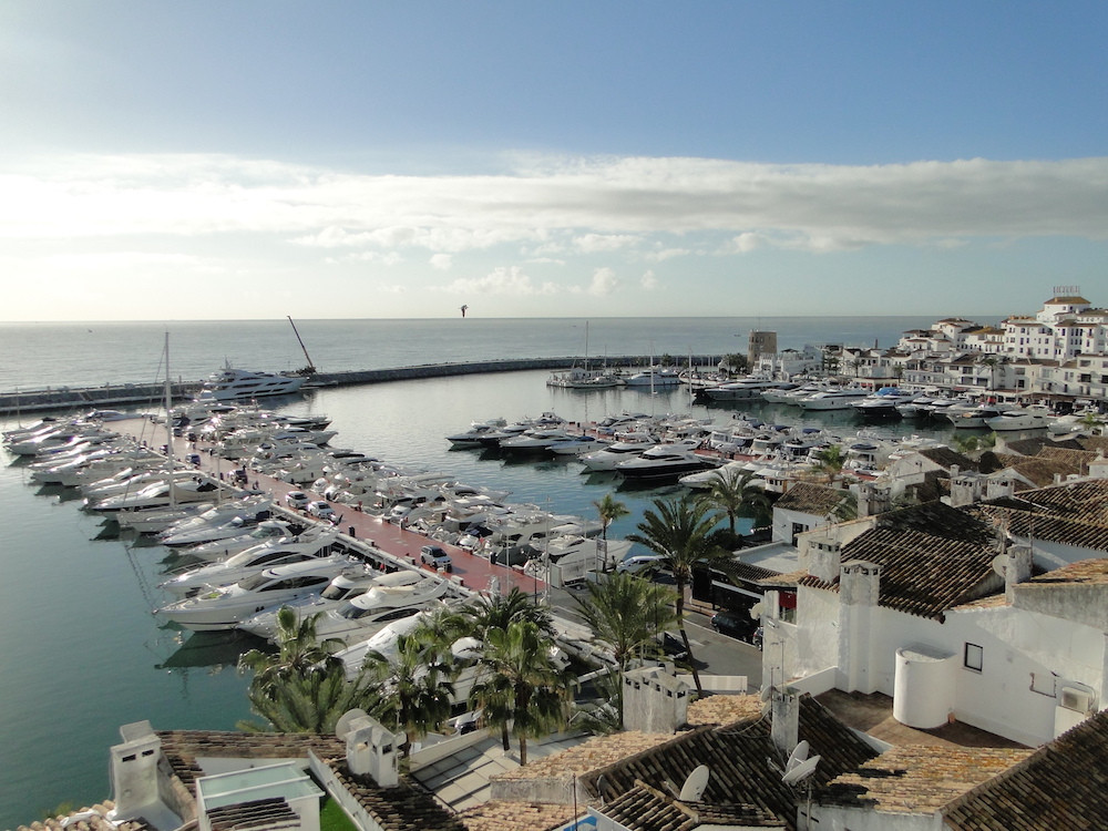 Splendid apartment- duplex in La Marina de Puerto Banus, incredible and unique views.  Unbeatable lo, Spain