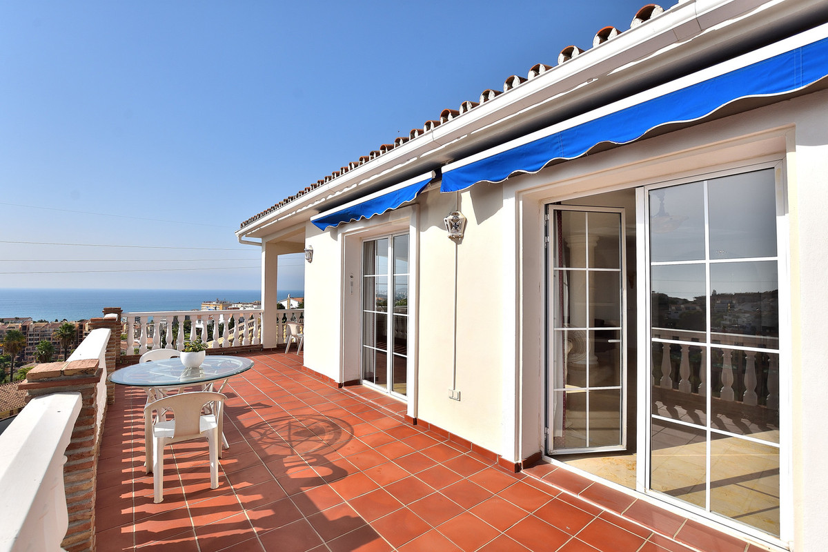 This beautiful villa is located in the lower half of Torreblanca and offers stunning sea views from ,Spain