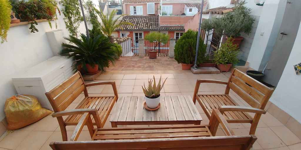 """Beautiful duplex penthouse in the neighborhood of La Lonja, 100m2 of Mallorcan character and a, Spain"