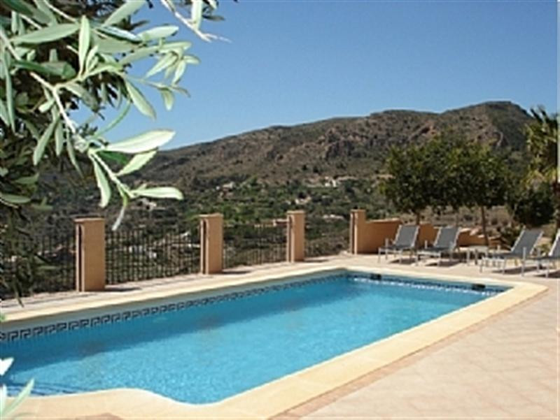 This beautiful Villa is situated in an elevated position close to the village of Bedar with fabulous, Spain